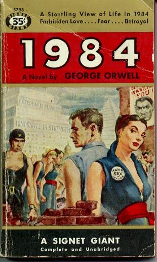 Buchumschlag von George Orwell's
